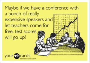 Conference Speakers e card