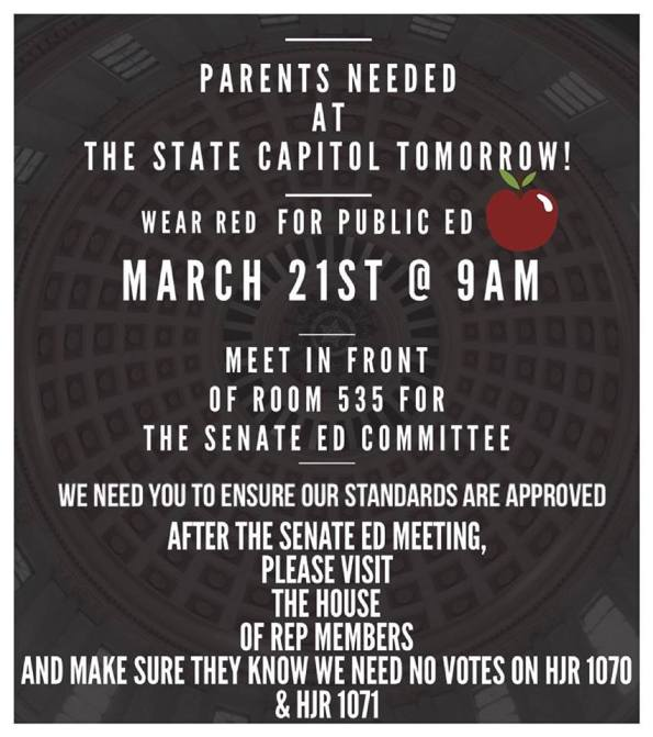 Call to the Capitol 3.21.15