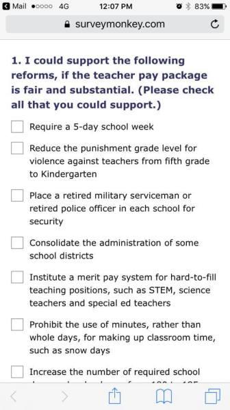 POE survey